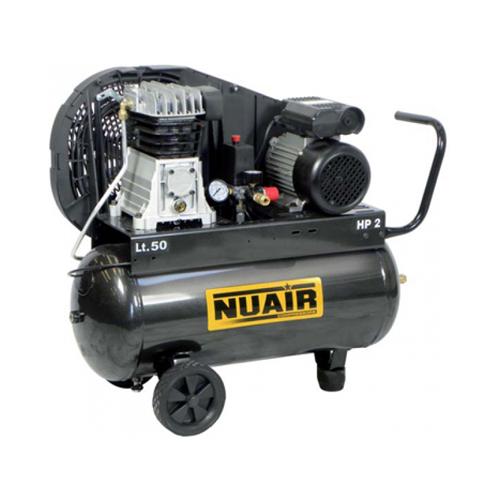 Compresor cu piston Nuair NUB B2800B/50 CM3, 50 L, 10 bar, 330 l/min, 3 CP, monofazat [0]
