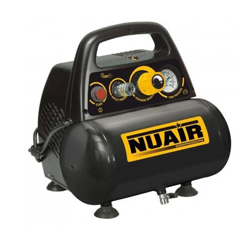 Compresor fara ulei Nuair NUB New Vento OL195/6 CE, 6 L, 8 bar, 180 l/min, 1.5 CP, monofazat [0]