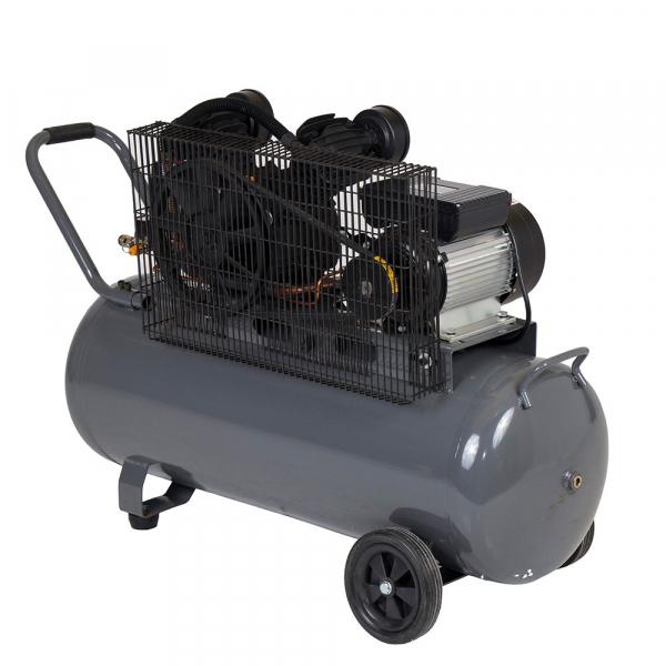 Compresor cu piston Stager HMV0.25/100, 100 L, 8 bar, 250 l/min, 3 CP, monofazat [1]