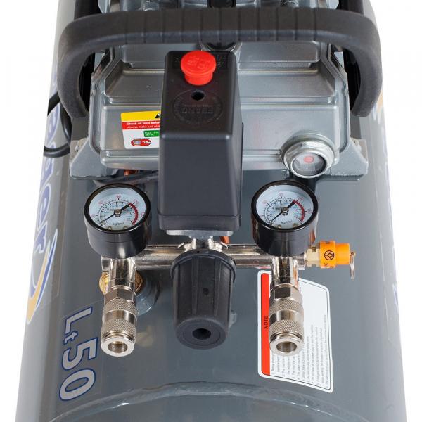 Compresor cu piston Stager HM2050B, 50 L, 8 bar, 200 l/min, 2 CP, monofazat [2]