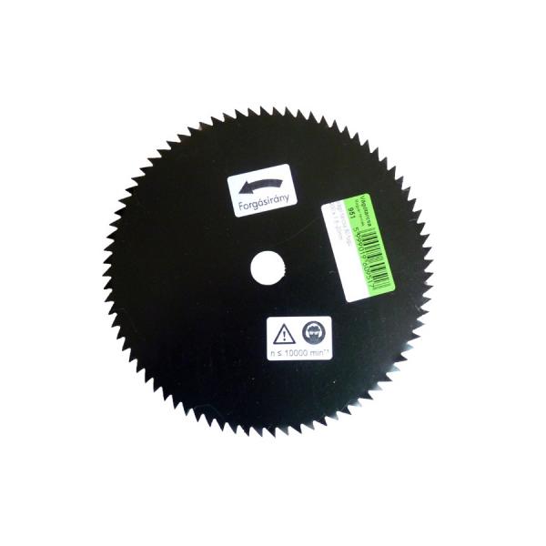 Disc circular cu 80 dinti ascutiti 200 x 20 mm [0]