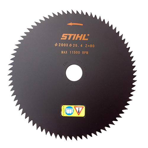 Disc cu dinti ascutiti Stihl 200x25.4 mm, 80 dinti [0]