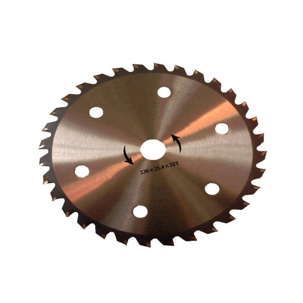 Disc pentru motocoasa, 32 dinti vidia, 230x25.4 mm 0