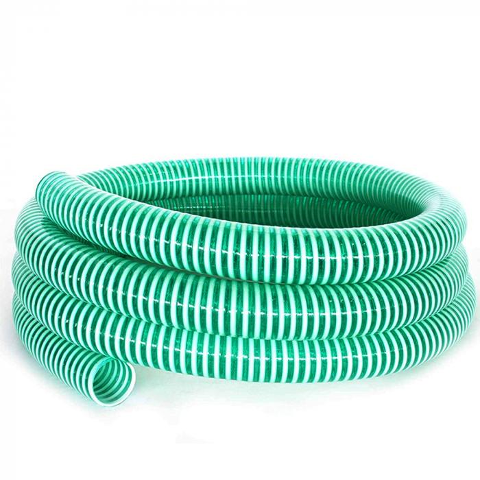 """Furtun absorbtie cu spira din PVC, 25 mm (1"""") [0]"""