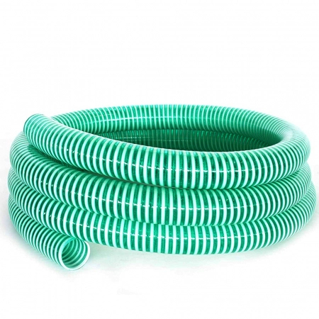"""Furtun absorbtie cu spira din PVC, 63 mm (2 1/2"""") [0]"""