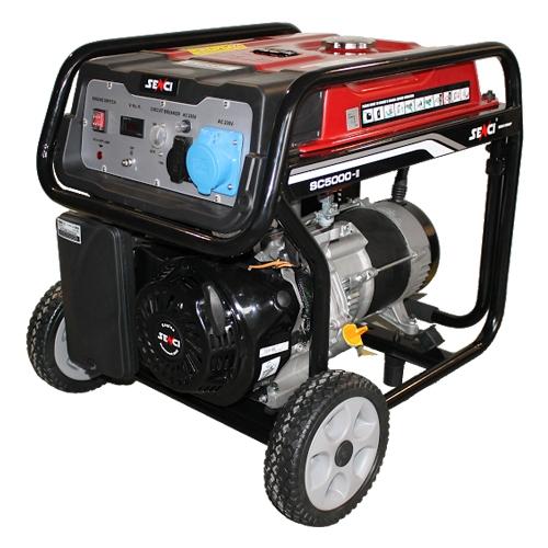 Generator de curent monofazat Senci SC-5000, 4.5 kW [0]