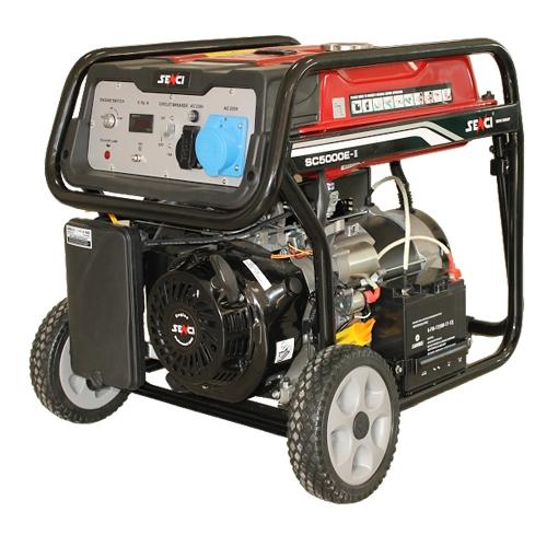 Generator de curent monofazat Senci SC-5000E, 4.5 kW 0