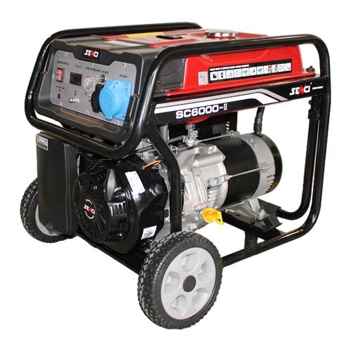 Generator de curent monofazat Senci SC-6000, 5.5 kW [0]