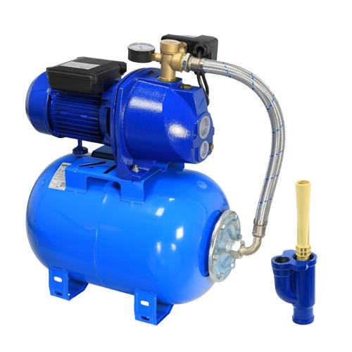 Hidrofor cu pompa din fonta si ejector Wasserkonig HW25/25H_N, 900 W, 2880 l/h, Hmax. 40 m, 24 l 0
