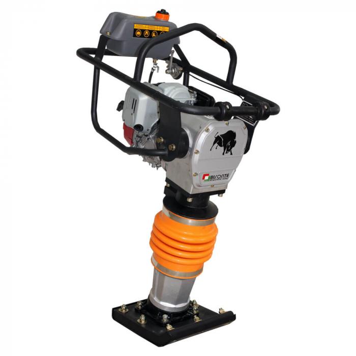 Mai compactor Bisonte MC72-H, Honda GX100, 3 CP, benzina, 12 kN, 68 kg [0]