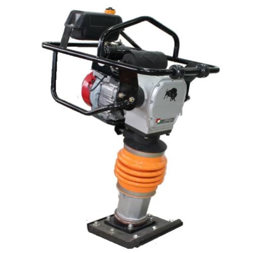 Mai compactor Bisonte MC80-L, Loncin 168, 5.5 CP, benzina, 10.7 kN, 79 kg [0]