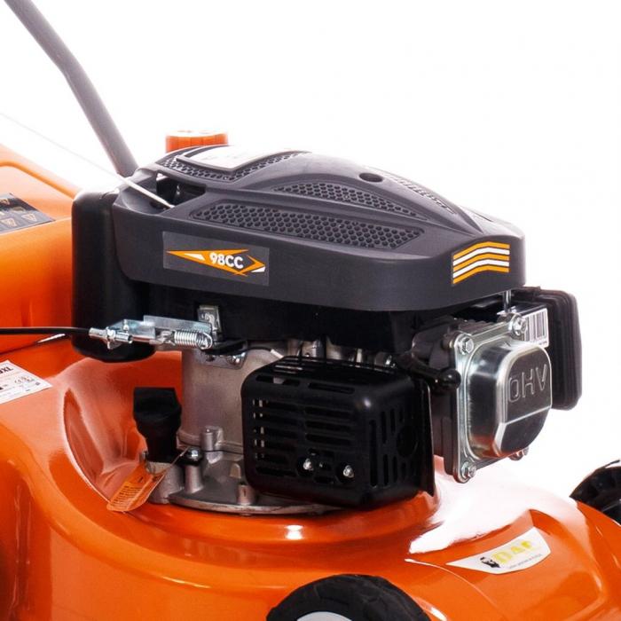 Masina de tuns gazon Ruris DAC 100XL, 2.5 CP, 40 cm, 45 L [2]