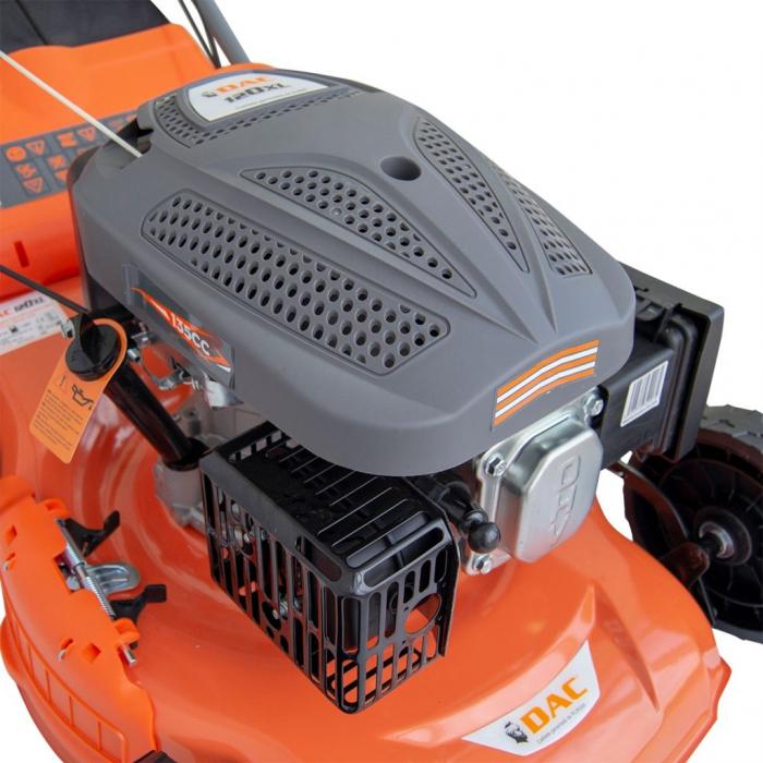 Masina de tuns gazon Ruris DAC 120XL, 4 CP, 46 cm, 55 L, autopropulsata 2