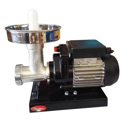 Masina de tocat carne nr. 5, Reber 9502 NI, 400 W, 30-50 kg/h, accesorii inox 0