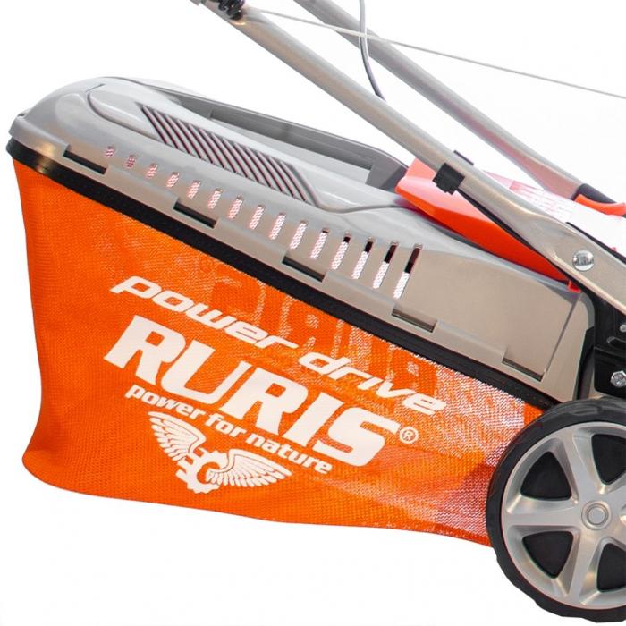 Masina de tuns gazon Ruris RX200S, 2.7 CP, 42 cm, 45 L 6