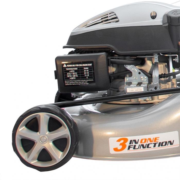 Masina de tuns gazon Ruris RX200S, 2.7 CP, 42 cm, 45 L 11