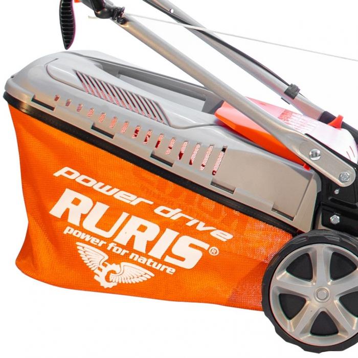 Masina de tuns gazon Ruris RX221S, 3.5 CP, 42 cm, 45 L 6