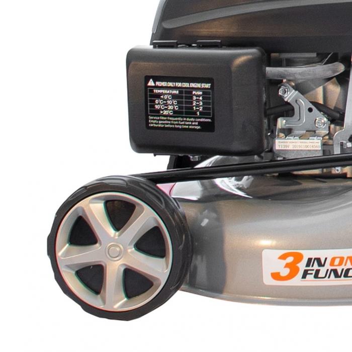 Masina de tuns gazon Ruris RX221S, 3.5 CP, 42 cm, 45 L 11