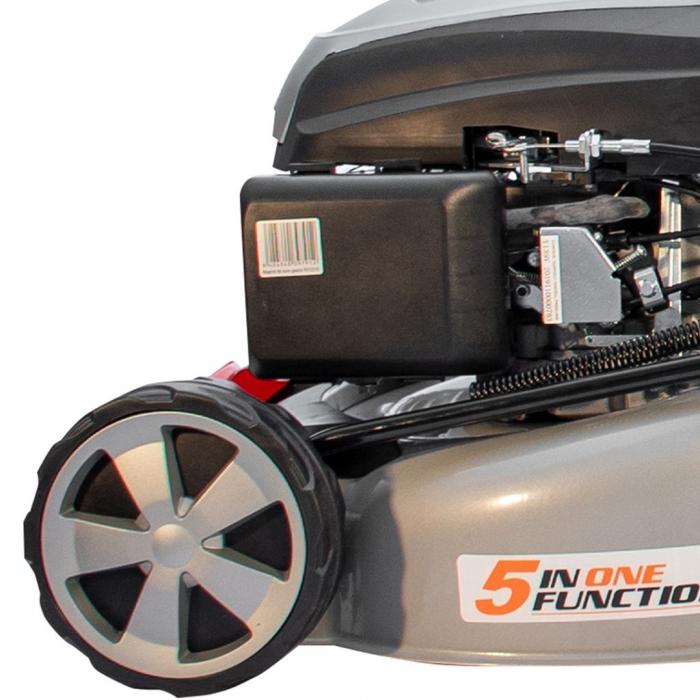 Masina de tuns gazon Ruris RX331S, 3.5 CP, 46 cm, 65 L, autopropulsata, pornire automata 11