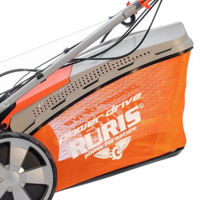 Masina de tuns gazon Ruris RX331S, 3.5 CP, 46 cm, 65 L, autopropulsata, pornire automata 5