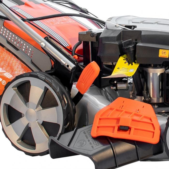 Masina de tuns gazon Ruris RX331S, 3.5 CP, 46 cm, 65 L, autopropulsata, pornire automata 7