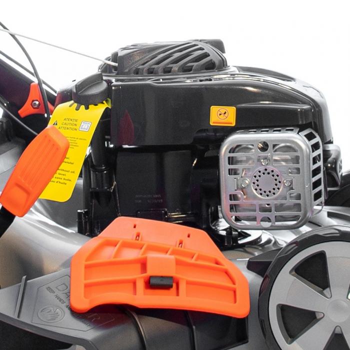 Masina de tuns gazon Ruris RX333S, 3 CP, 46 cm, 65 L, autopropulsata 4