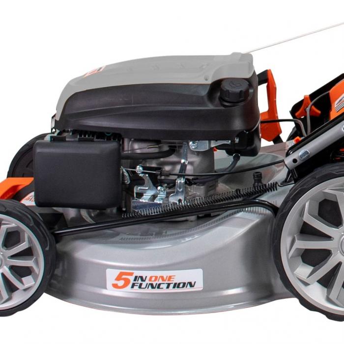 Masina de tuns gazon Ruris RX500S, 5.7 CP, 53 cm, 65 L, autopropulsata, variator viteza 3