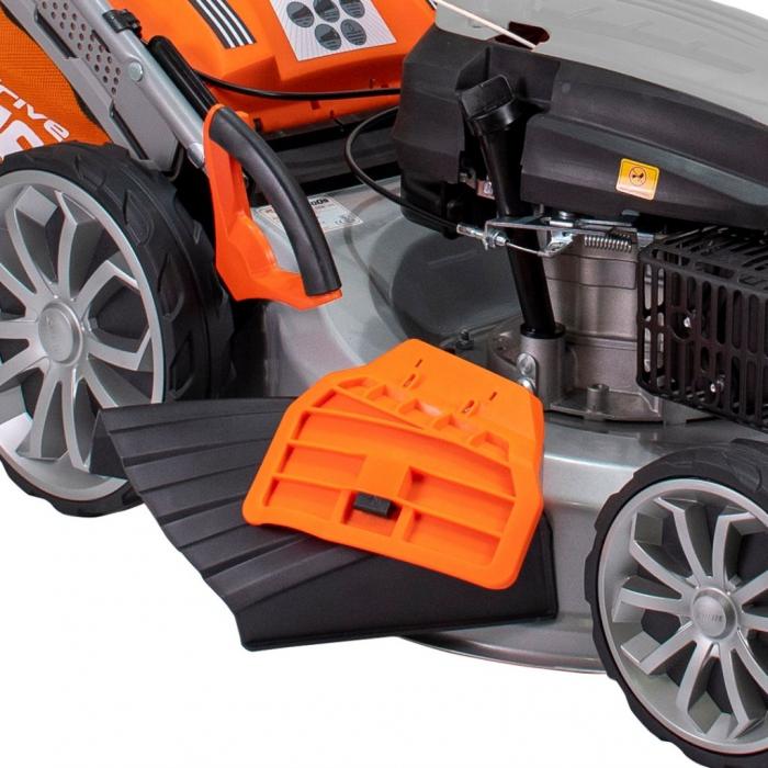 Masina de tuns gazon Ruris RX500S, 5.7 CP, 53 cm, 65 L, autopropulsata, variator viteza 7