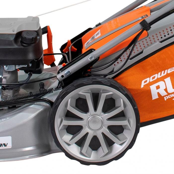 Masina de tuns gazon Ruris RX500S, 5.7 CP, 53 cm, 65 L, autopropulsata, variator viteza 10