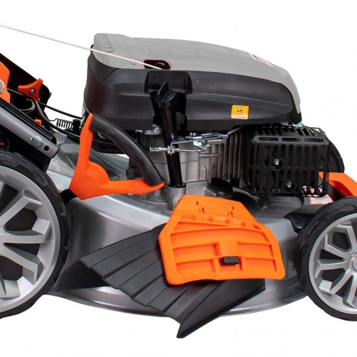 Masina de tuns gazon Ruris RX500S, 5.7 CP, 53 cm, 65 L, autopropulsata, variator viteza 4