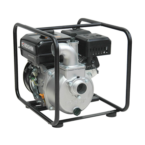 "Motopompa apa curata Koshin SEV-50X, 4.2 CP, benzina, 620 l/min, Hmax. 25 m, 2"" 1"
