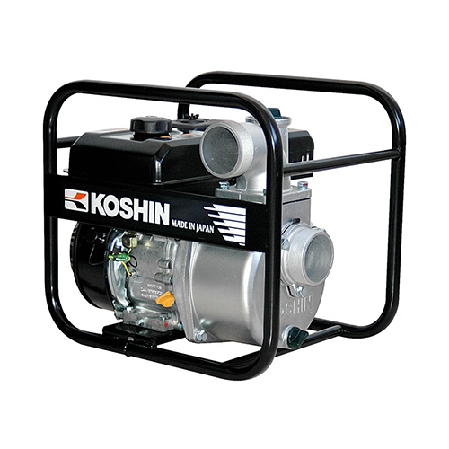 "Motopompa apa curata Koshin SEV-80X, 4.2 CP, benzina, 1050 l/min, Hmax. 25 m, 3"" 0"
