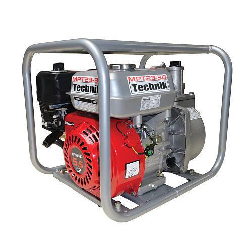 "Motopompa apa curata Technik MPT23-30, 2"", 5.5 CP, benzina, 500 l/min, Hmax. 23 m [0]"