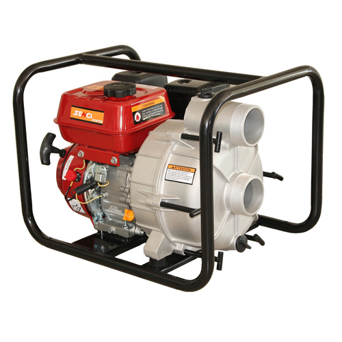"Motopompa apa murdara Senci SCWT-80, 3"", 7.5 CP, benzina, 1100 l/min, Hmax. 28 m [1]"