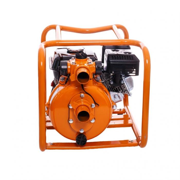 "Motopompa de presiune Ruris MP90, 2"", 7 CP, benzina, 500 l/min, Hmax. 65 m 1"