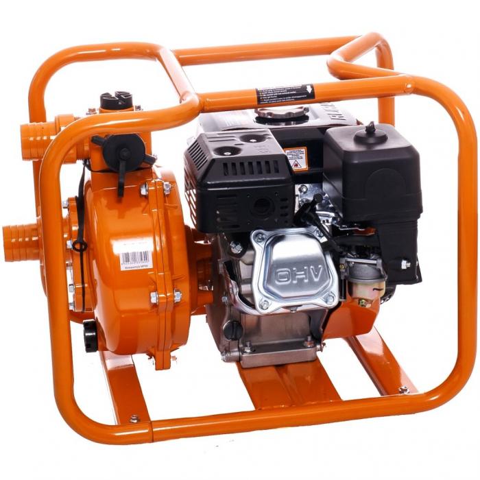 "Motopompa de presiune Ruris MP90, 2"", 7 CP, benzina, 500 l/min, Hmax. 65 m 3"
