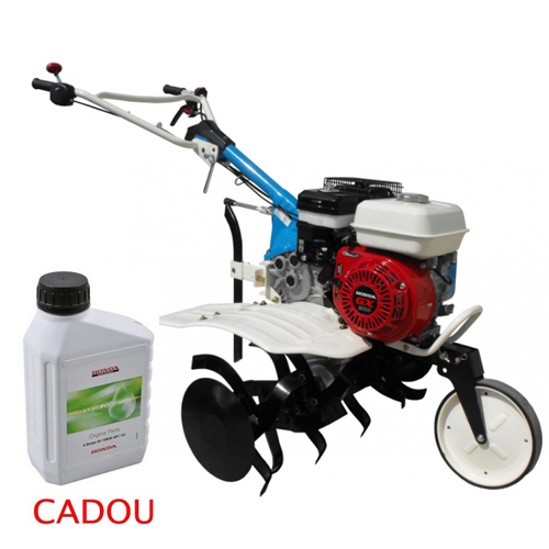 Motosapa AGT 5580, Honda GX200, 6.5 CP, benzina, 2+1 viteze + roti 4.00-8, plug bilonat 0