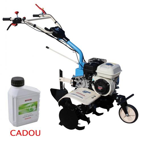 Motosapa AGT 6500 PREMIUM, Honda GP160, 5.5 CP, benzina, 2+1 viteze + roti 4.00-8, plug bilonat 0