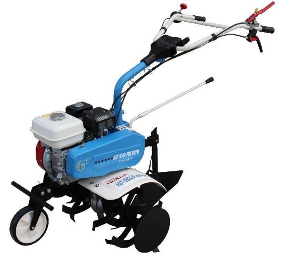 Motosapa AGT 6500 PREMIUM, Honda GX200, 6.5 CP, benzina, 2+1 viteze + roti 4.00-8, plug bilonat 2