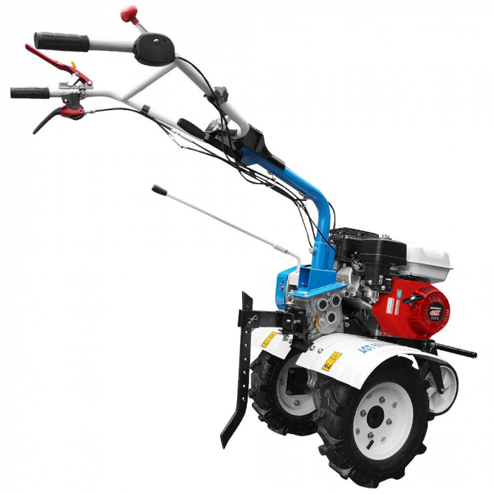 Motosapa AGT 6500 PREMIUM, Honda GX200, 6.5 CP, benzina, 2+1 viteze + roti 4.00-8, plug bilonat 5