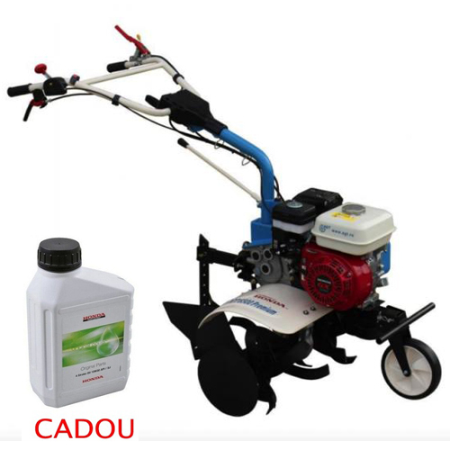 Motosapa AGT 6500 PREMIUM, Honda GX200, 6.5 CP, benzina, 2+1 viteze + roti 4.00-8, plug bilonat 0