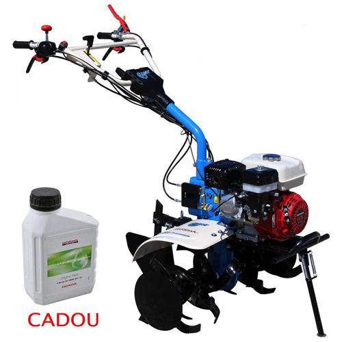 Motosapa AGT 7500 PREMIUM, Honda GX200, 6.5 CP, benzina, 2+1 viteze + roti 4.00-8, plug bilonat 0