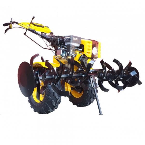 Motocultor ProGARDEN HS1000BW, 7.5 CP, benzina, 2+1 viteze, roti ATV, manicot rulment (Campo 854) 0