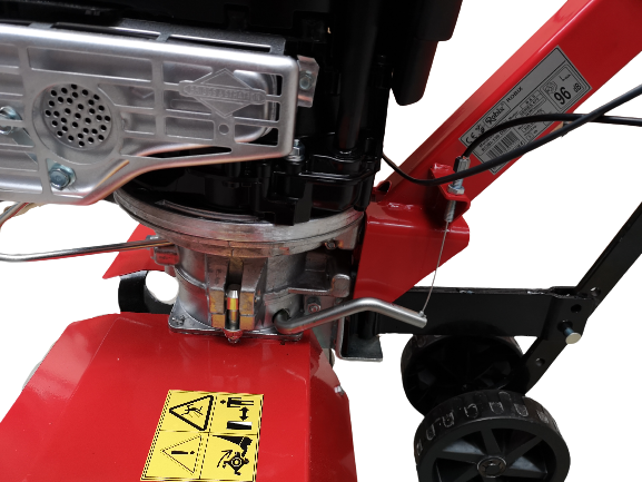 Motosapa Robix R-156/DM, Briggs & Stratton 725, 6.5 CP, benzina, 1 viteza, latime lucru 85 cm [9]