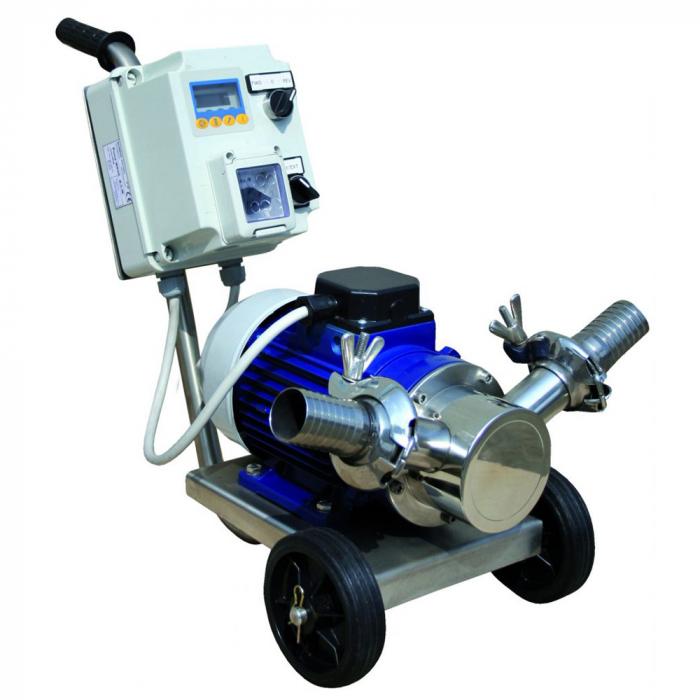 Pompa de transvazare miere BCM Volumex 50, 400 V, 2.3 CP, 150-270 L/min [1]