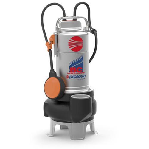 Pompa submersibila apa murdara Pedrollo BCm 10/50-N, 750 W, 600 L/min, Hmax. 11 m, corp fonta [0]