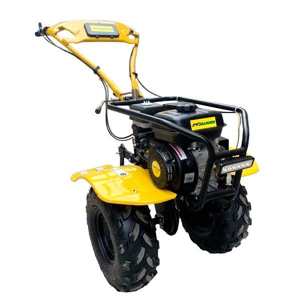 Motocultor ProGARDEN HS500N, 7 CP, benzina, 2+1 viteze, roti ATV 19x7-8, far LED (Campo 753) 0