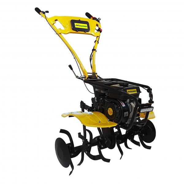 Motocultor ProGARDEN HS500N, 7 CP, benzina, 2+1 viteze, roti ATV 19x7-8, far LED (Campo 753) 1