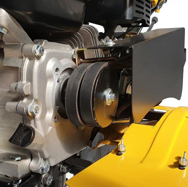 Motocultor ProGARDEN HS500N, 7 CP, benzina, 2+1 viteze, roti ATV 19x7-8, far LED (Campo 753) 7