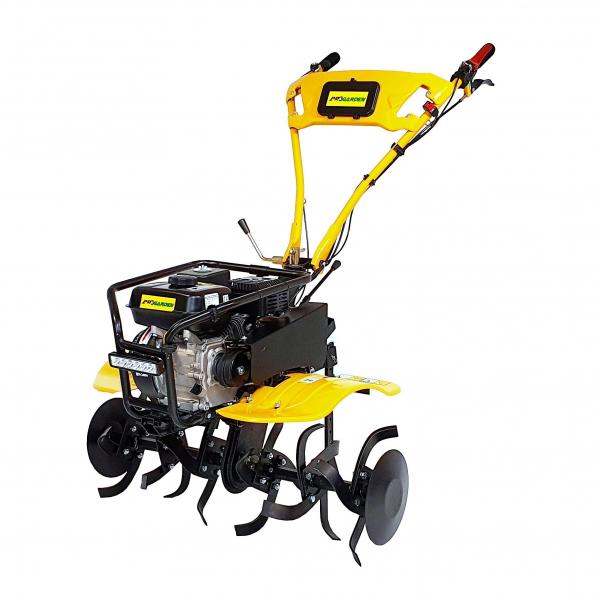 Motocultor ProGARDEN HS500N, 7 CP, benzina, 2+1 viteze, roti ATV 19x7-8, far LED (Campo 753) 2